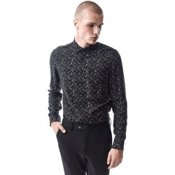 Vêtements Homme Chemises manches longues Pearly King ANGIE Noir