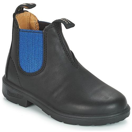 Chaussures Enfant Boots Blundstone KIDS BOOT Noir / Bleu