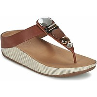 Chaussures Femme Sandales et Nu-pieds Fitflop Femme fitflop sandales jeweley toe post Marron