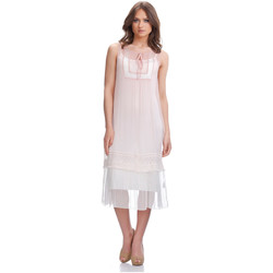 Vêtements Femme Robes Laura Moretti Robe ZELL Femme Collection Automne Hiver Rose