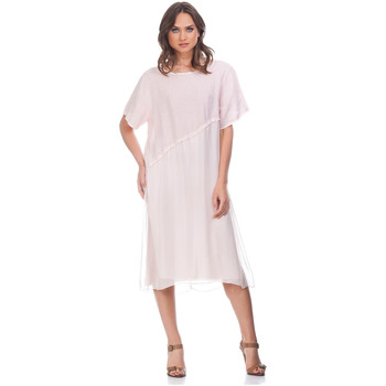 Vêtements Femme Robes Laura Moretti Robe YZY Femme Collection Automne Hiver Rose