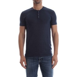 Vêtements Homme T-shirts manches courtes Wool&co Daniele Fiesoli WO 2201 T-SHIRT Homme INDACO INDACO