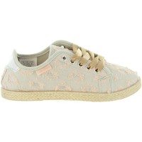 Chaussures Fille Baskets mode Lois Jeans 60070 Beige