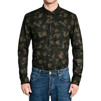 Vêtements Homme Chemises manches longues Minimum BROOKMAN Vert