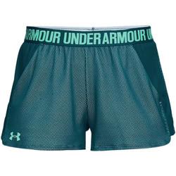 Vêtements Femme Shorts / Bermudas Under Armour Short  Play Up - Ref. 1305421-716 Vert