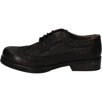 Chaussures Femme Derbies Crime London chaussures femme élégantes noir cuir AE323 noir