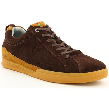 Chaussures Homme Baskets basses Kickers TAMPA Marron