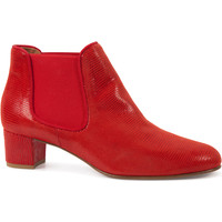 Chaussures Femme Bottines Heyraud Bottine SOLANTA Rouge