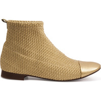 Chaussures Femme Boots Heyraud Bottine DIANE Or