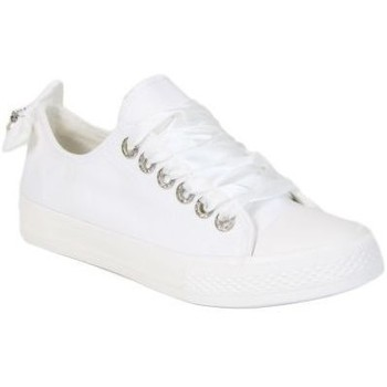 Chaussures Femme Baskets basses Kebello Baskets 80080-2 blanc
