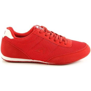 Chaussures Femme Baskets basses American Club AM371B Rouge