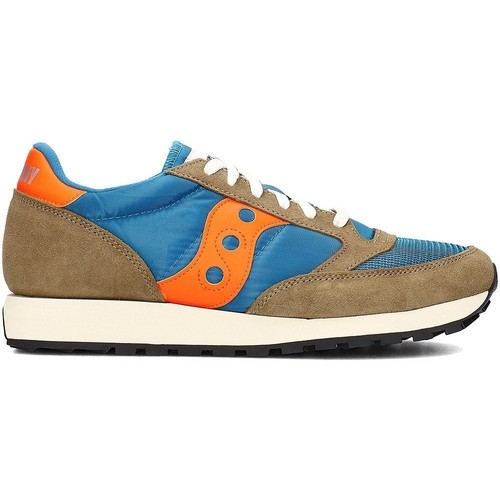 Saucony Jazz Original Bleu-Marron - Chaussures Baskets basses Homme