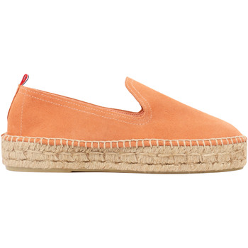 Chaussures Espadrilles 1789 Cala Slip On Double Cuir Pêche rose