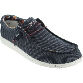 Chaussures Homme Ville basse Hey Dude Wally Sox Bleu