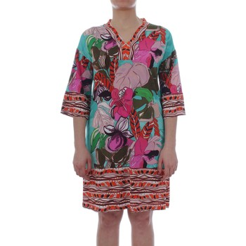 Vêtements Femme Robes courtes Carla B. Carla B. 210023 Caftan Femme Multicolor Multicolor