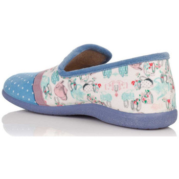 Chaussures Femme Chaussons Calsán 840 TOPOS Azul