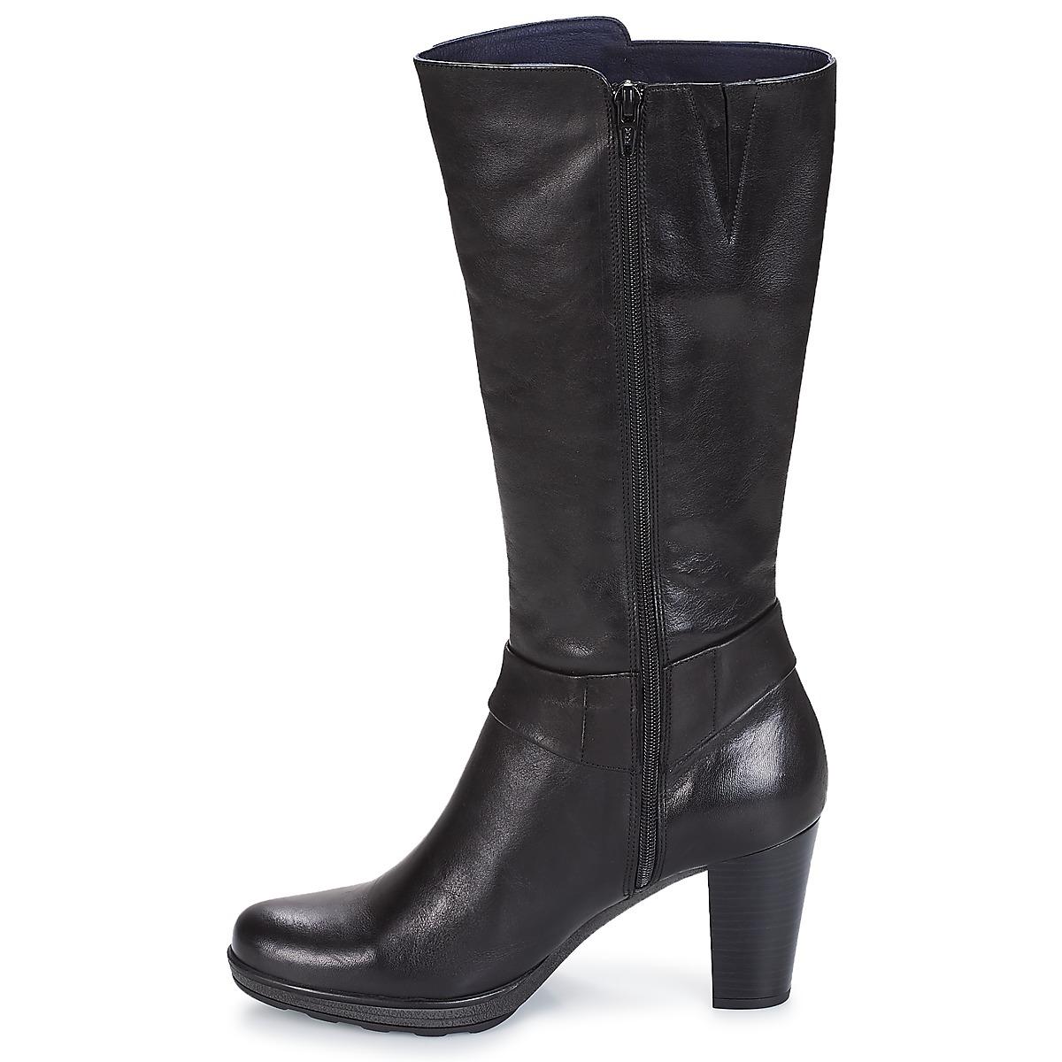 Dorking Reina Noir - Livraison Gratuite Chaussures Botte Ville Femme 124,00 €