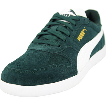 Chaussures Homme Baskets basses Puma ICRA TRAINING Chaussures Mode Sneakers Homme Cuir Suede vert