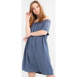 Vêtements Femme Robes courtes Jacqueline De Yong VESTIDO  JDYFAME OFFSHOULDER S/S DRESS AZUL