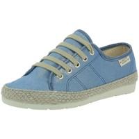 Chaussures Femme Baskets basses La Maison De L'espadrille 3721 bleu