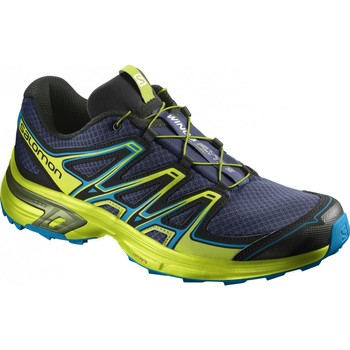 Chaussures Homme Running / trail Salomon Chaussures Trail  Wings Flyte 2 Blue Depth Bleu nuit