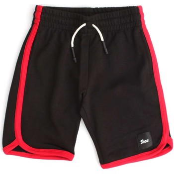 Vêtements Enfant Shorts / Bermudas Shoeshine E8SM03 SHORTS ET BERMUDAS Enfant BLACK BLACK