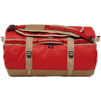Sacs Sacs de voyage The North Face Base Camp Duffel S Bossa Nova Red / Kelp Tan