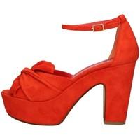 Chaussures Femme Sandales et Nu-pieds Silvia Rossini 1925 Orange