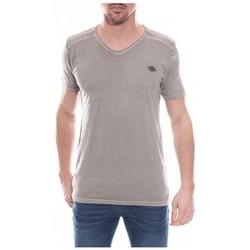 Vêtements Homme T-shirts manches courtes Ritchie T-shirt col V en coton NORMAN Beige