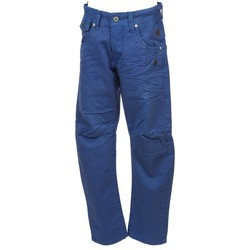 Vêtements Garçon Pantalons cargo Biaggio Choubok ind pant chino jr Bleu marine / bleu nuit