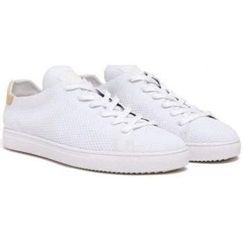 Chaussures Baskets mode Claé Chaussures  Bradley Knit - White blanc