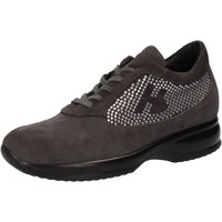 Chaussures Femme Baskets basses Hornet Botticelli chaussures femme  sneakers gris daim strass AE480 gris