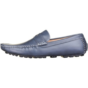 Chaussures Homme Mocassins Reservoir Shoes Lino Navy Bleu