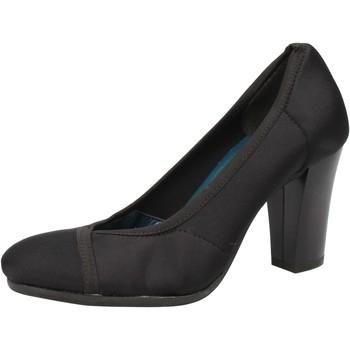 Chaussures Femme Escarpins Keys chaussures femme escarpins noir textile AE601 noir