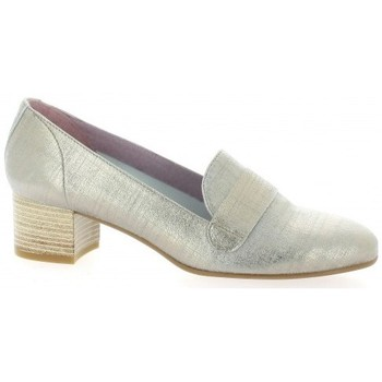 Chaussures Femme Mocassins Pao Mocassins cuir laminé Beige