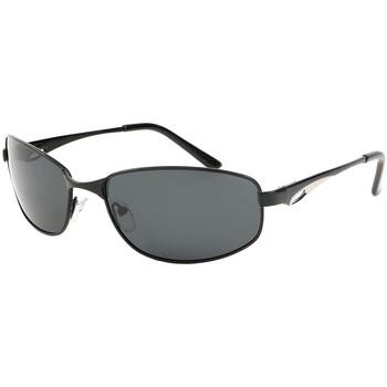 Montres & Bijoux Lunettes de soleil Eye Wear Lunettes de soleil polarisées sport Noir Dake Noir