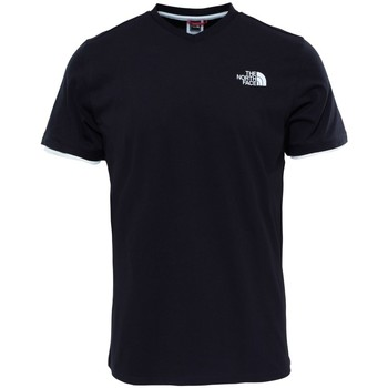 Vêtements Homme T-shirts manches courtes The North Face M Vneck S/s Tee Noir