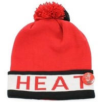 Accessoires textile Bonnets Mitchell And Ness bonnet NBA Miami Heat Mitchell Multicolore