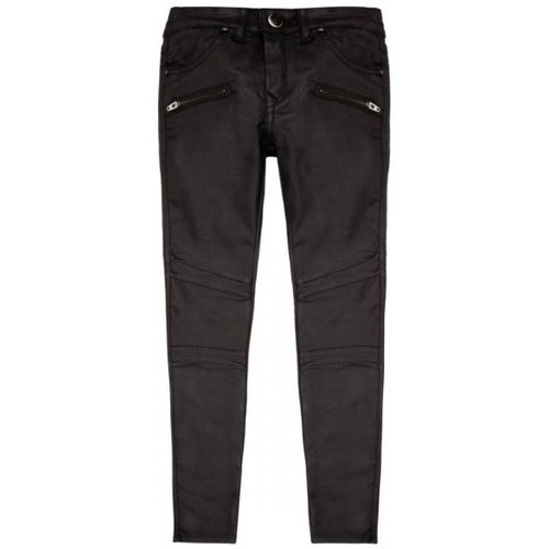 Vêtements Fille Jeans slim Kaporal JEAN SLIM  POLIN NOIR