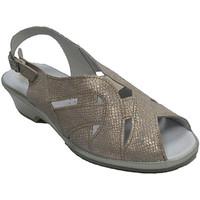 Chaussures Femme Sandales et Nu-pieds Made In Spain 1940 Sandale femme très confortable Lumel en gris