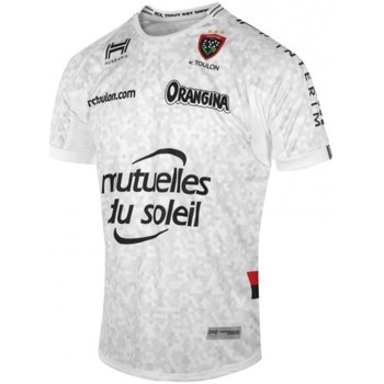 Vêtements T-shirts manches courtes Hungaria Maillot rugby Rugby Club Toulonnais réplica third - 2017/2018 ad Gris