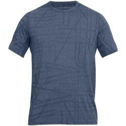 Vêtements T-shirts manches courtes Under Armour Tee-shirt entrainement rugby U Gris