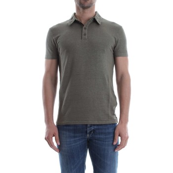Vêtements Homme Polos manches courtes Wool&co Daniele Fiesoli WO 2200 POLO Homme Militare Militare