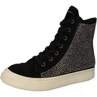 Chaussures Femme Baskets montantes Twin Set TWIN-SET sneakers noir daim strass AE840 noir