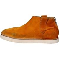 Chaussures Femme Boots Moma bottines jaune daim AE995 jaune