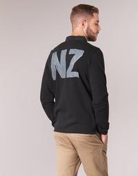 Vêtements Homme Polos manches longues Serge Blanco POLO NEW ZEALAND Noir