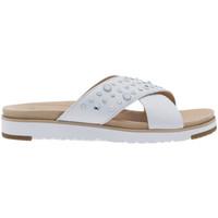 Chaussures Femme Sandales et Nu-pieds UGG Sandale  Kari Studded Bling - Ref. KARI-STUDDED-BLING-WHITE Blanc