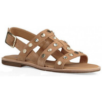 Chaussures Femme Sandales et Nu-pieds UGG Sandale  Zariah Studded Bling - Ref. ZARIAH-STUDDED-LATTE Beige
