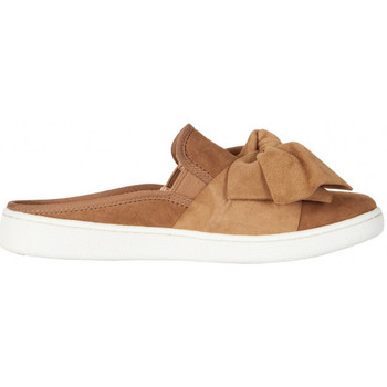 Chaussures Femme Slip ons UGG Sandale  Luci Bow - Ref. LUCI-BOW-CHESNUT Châtaigne