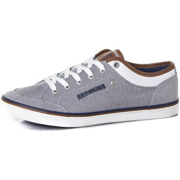 Chaussures Homme Baskets basses Chaussures Redskins GALETI GRIS BLANC Gris